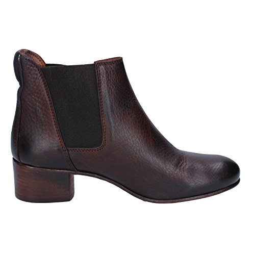 UK Ankle Brown MOMA Boots 36 EU Women's Leather 3 U6TUIWqwd