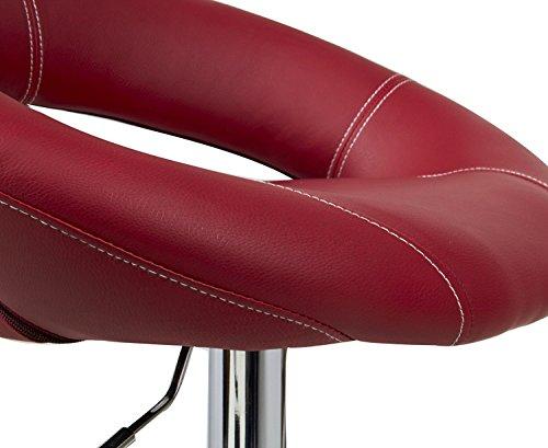Woltu design set di sgabelli da bar con manico