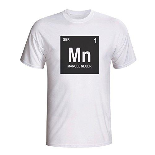 uk availability 40b84 9179c Amazon.com : Manuel Neuer Germany Periodic Table T-Shirt ...