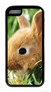 Rabbit Iphone 5C Case TPU Supple Shell by Shariecover