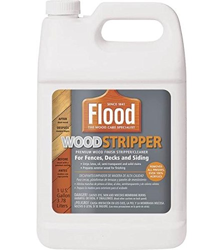 Flood FLD138 Latex Exterior Clear Solid Wood Stripper - Household ...