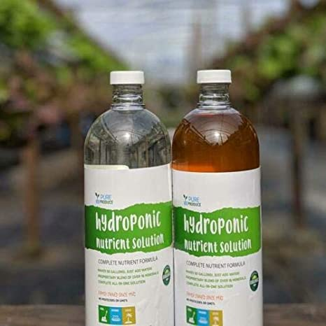 Hydroponic Nutrient Solution - Complete Plant Food System - Part A and B