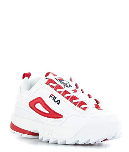 Fila Femme 101060402a Cuir Rouge Sneakers 446qrf