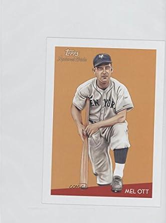 Amazoncom Mel Ott Baseball Card 2010 Topps National Chicle Box