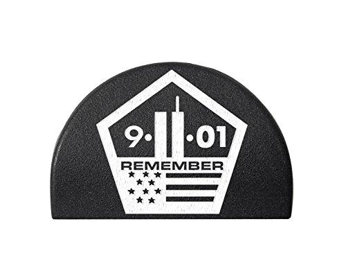 Jentra JP2 for Glock Gen 1-3 Grip Frame Plug Hand Painted Color Filled White 9/11 Pentagon Remember - Pentagon Frame