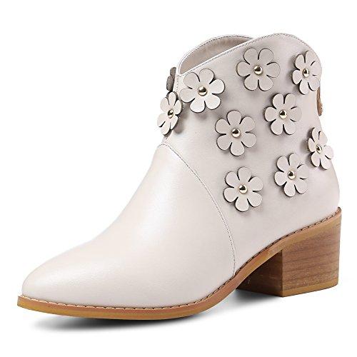 Nine SevenAnkle Boots - Botas mujer Beige