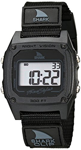 Freestyle Men's FS84978 Shark Clip Classic Retro Television Screen Case Digital Watch
