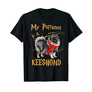 My Patronus Is A Keeshond T Shirt for Dog Lovers 34