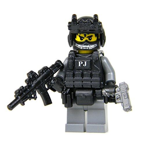 US Air Force PJ Commando Soldier (SKU10)- Battle Brick Custom Minifigure