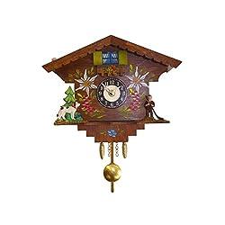 Alexander Taron Importer 4929 Engstler Weight-driven Cuckoo Clock, Full
