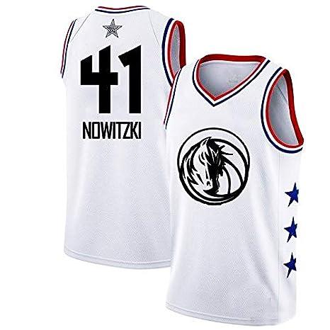 WLDSH 2019 NBA Star Season Basketball Camiseta de Manga ...