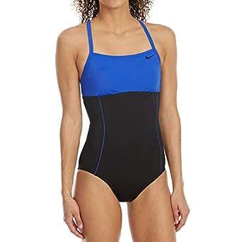 Amazon.com: NIKE Women's One-Piece Swimsuit Athletic