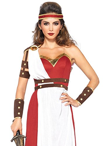 Leg Avenue Women's Spartan Goddess Costume, Multi, Small/Medium