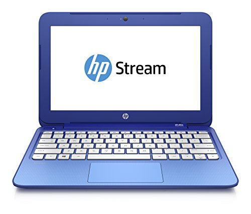 HP Stream 11-d013nf PC Portable 116 Bleu (Intel Celeron 2 Go de RAM SSD 32 Go Mise  jour Windows 10 gratuite)
