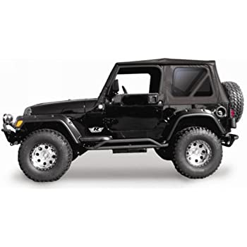 Amazon.com: RAMPAGE PRODUCTS 68835 Complete Soft Top with Frame ...