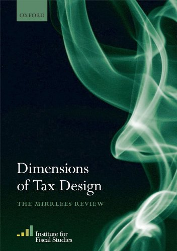 Dimensions of Tax Design: The Mirrlees Review Pdf