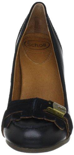 SCHWARZ Schuhe Damen Scholl Court Schwarz xqIqga