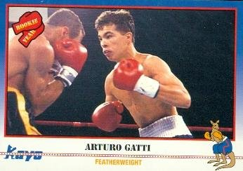 - Arturo Gatti Trading Card (Boxing) 1991 Kayo #169