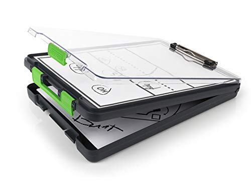 Dexas 5717-802 Clearview Clipcase clipboard, 13.75 X 9.5 Inch, Green