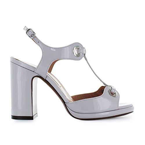 Lovely Zapatos de Mujer Sandalia con Plataforma Charol Gris L Autre Chose  Primavera Verano 2018 ed16ac24159