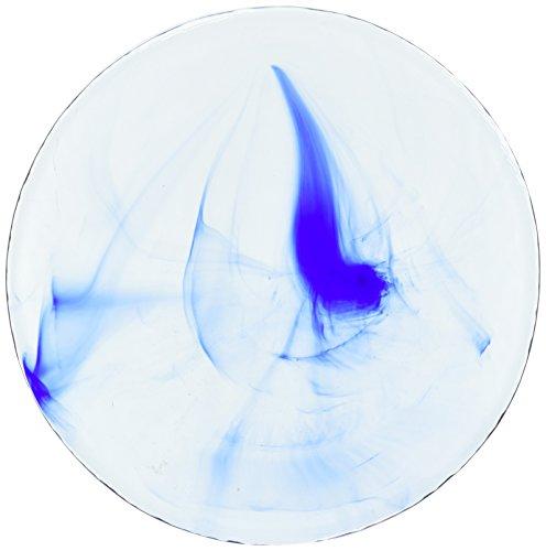 Bormioli Glass Bowls - Bormioli Rocco Murano Dessert Plates, Blue, Set of 24