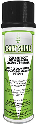 Club Clean Cart Shine - Cleaner for Golf Carts, ATV's, Motorcycles, Tires, Canopys, and More! (Best Golf Cart Tires)