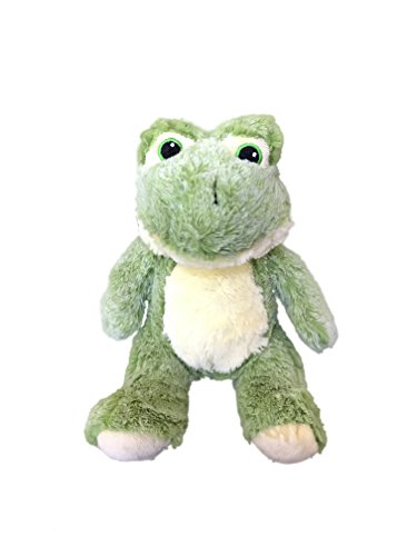 Dog Frog Plush (Plush Frog Dog Toy | 7 inches | Durable | Squeaker | For Big Dogs & Puppies | Ideal for Instagram)
