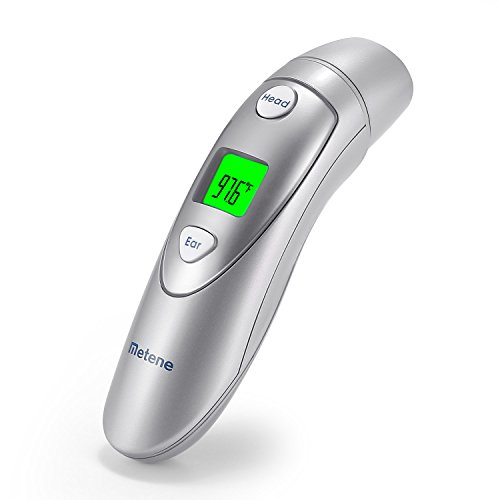 Metene Infrared Forehead and Ear Thermometer, Suitable for Baby, Toddler and Adults with FDA and CE Approved by Metene (Image #1)