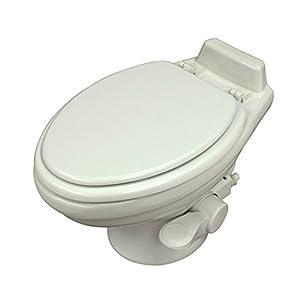 Dometic 320 Series Low Profile Toilet, White