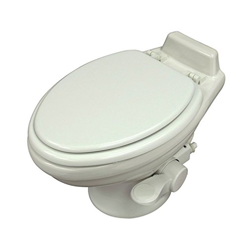 Dometic 320 Series Low Profile Toilet, White