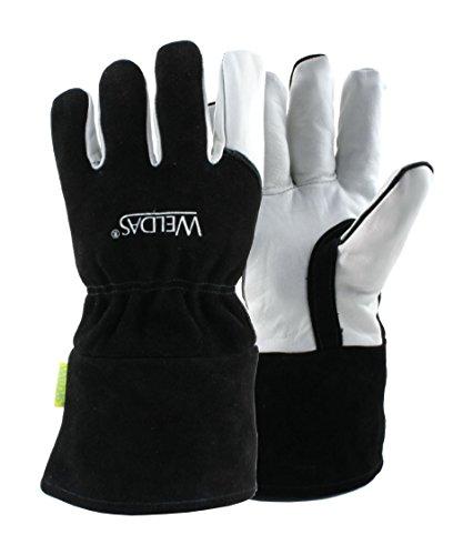 Weldas Arc Knight MIG/Stick Welding Glove - Kevlar Sewn - 100% Cotton Lining - Size XL by Weldas (Image #4)