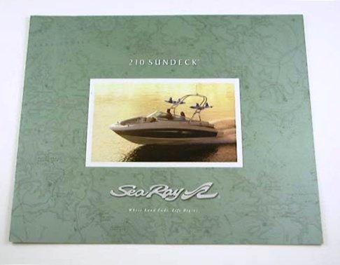 2008 08 Sea Ray 210 SUNDECK Boat BROCHURE - Buy Online in Oman