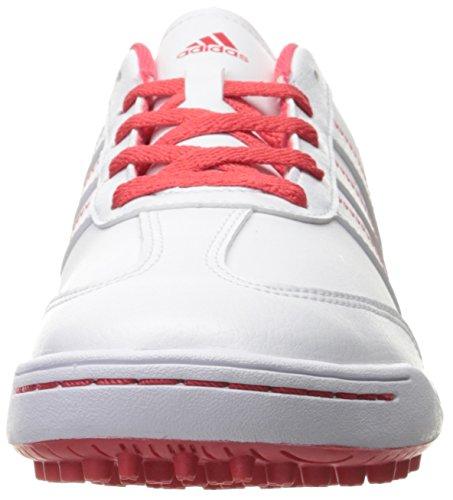 adidas Girls' Jr Adicross V Ftwwht/Ftww Skate Shoe, White, 4.5 M US Big Kid - Image 4