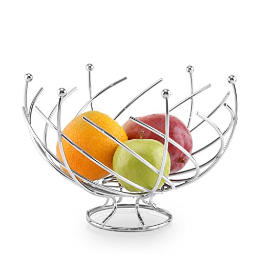 BINO 'Wired' Fruit Basket, Chrome