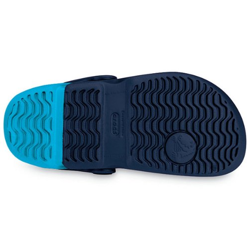 Crocs - Electro Kids - Taille 21 (C4) - Couleur navy/electric blue