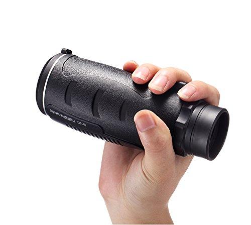 Aurosports Compact Pocket-Sized 30X50 High-Powered Monocular Telescope Binoculars by Meter.llc