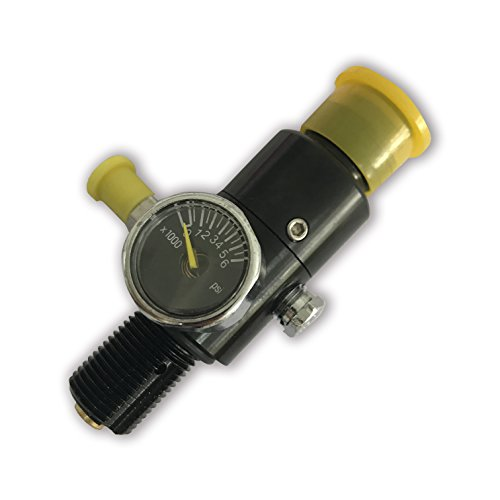 Acecare Adaptor or Regulator for 4500 psi Composite Tank with 3000 PSI Output Pressure by Acecare