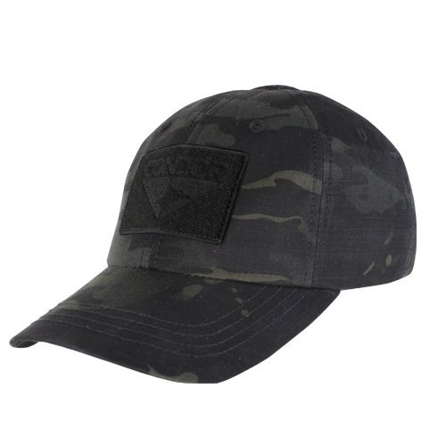 Velcro Patch Baseball - CONDOR Men's Tactical Cap MultiCam Black