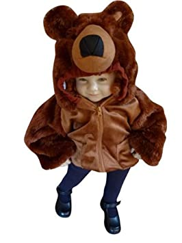 Seruna - Disfraz de Oso Infantil, Talla 92: Amazon.es: Juguetes y ...