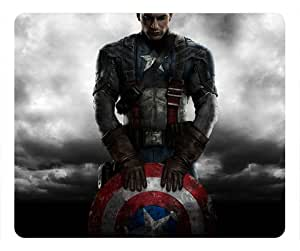 Captain America The Winter Soldier Custom Mouse Pad Rectangle by Custom4you