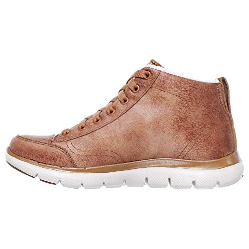 Skechers 2 Textile Flex Chestnut 0 Appeal Warm Wishes 1g6wzg
