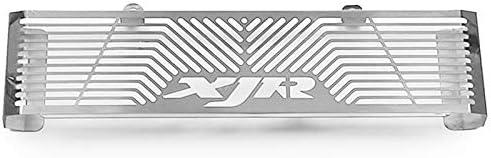 Summerwindy Motorrad Zubeh?r K/üHler Schutz Schutz Gitter Grill Abdeckung F/üR XJR 1300 Xjr1300 1998-2008 Silber