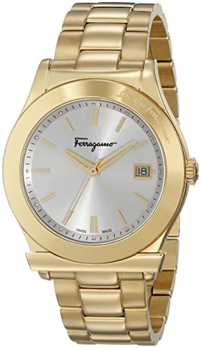Salvatore-Ferragamo-Mens-FF3890015-Ferragamo-1898-Gold-Ion-Plated-Stainless-Steel-Watch