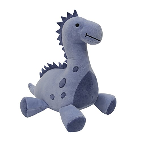 Bedtime Originals Roar Dinosaur Plush Rex, Blue]()
