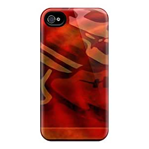 Jamesler Scratch-free Phone Case For Iphone 4/4s- Retail Packaging - Tampa Bay Buccaneers
