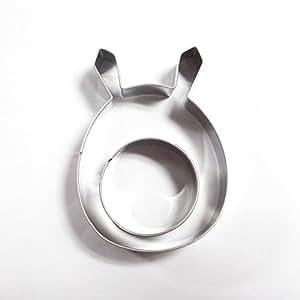 Wocuz Cute Totoro Cookie Cutter Stainless Steel Fondant Cutter