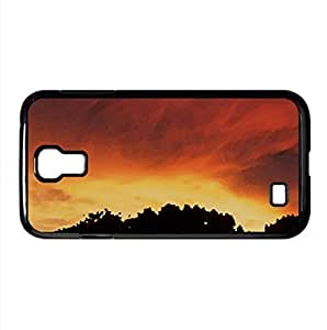 Sunset - Storm Day Watercolor style Cover Samsung Galaxy S4 I9500 Case (Sun & Sky Watercolor style Cover Samsung Galaxy S4 I9500 Case)