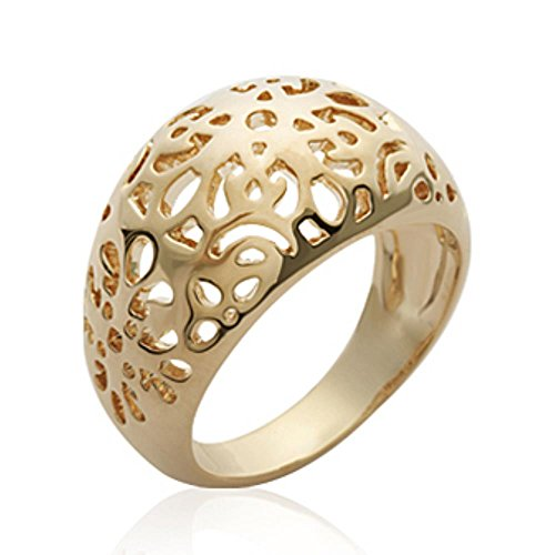 ISADY - Queena Gold - Bague femme - Plaqué Or 750/000 (18 carats)