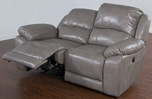 Sunny Designs 5201TP-L2P Idaho Dual Power Recliner Loveseat by Sunny Designs