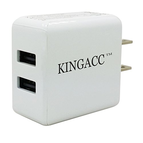 S5 Cable,KingAcc(TM) Galaxy S5 / Note 3 Home Wall Charger and Travel Charger Kit 3 in 1 Includes: (2X) 3Ft Superspeed USB 3.0 A to Micro B Charging and Data Sync Cables (1X) 2.1A Rapid Dual Port Wall Charger-1 Year Warranty